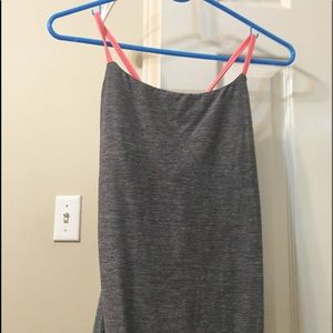 Lululemon grey excursive top
